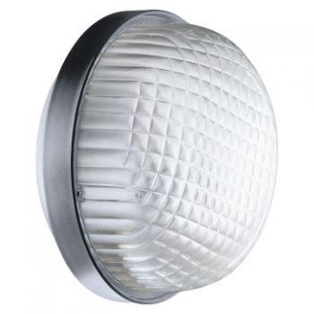Corp iluminat Bolla 200 60W E27 Ip55 Gr-Ral7035 Gewiss GW80616