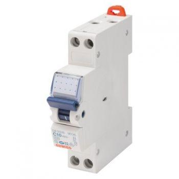 Siguranta automata Compact Siguranta Automata 1P plus N C25 4 5Ka 1M Gewiss GW90029