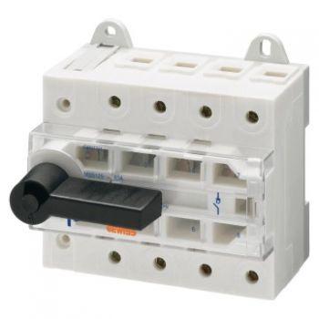 Separator Switch Disconnector Mss 125 4P 63A Gewiss GW97724
