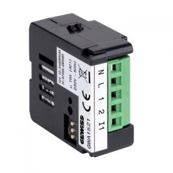 Dispozitiv wireless Zigbee Potential-Free 1Ch Actuator Gewiss GWA1521