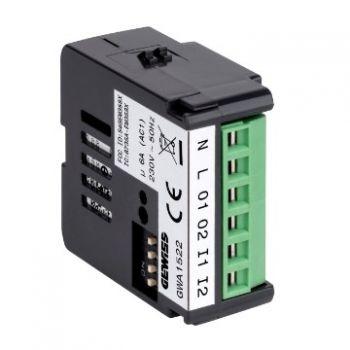 Dispozitiv wireless Zigbee 2Ch Actuator 230Vac Gewiss GWA1522