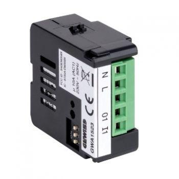 Dispozitiv wireless Zigbee 1Ch Actuator With Power Meter Gewiss GWA1523