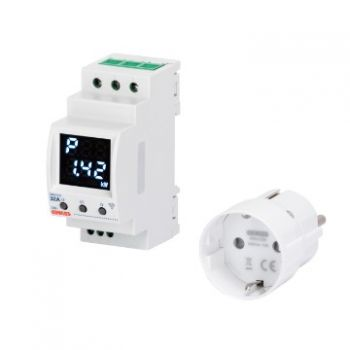 Dispozitiv wireless Kit P-Comfort plus 1 Smart Plug Zigbee Gewiss GWA1911