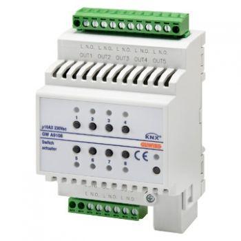 Automatizari Attuatore Commutazione 8 Can-10Ax Knx Gewiss GWA9108