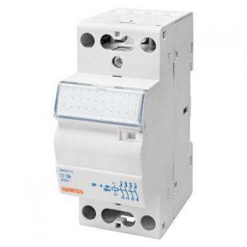 Contactor Contactor 25A 3No plus  1Nc 230V 2M Gewiss GWD6718