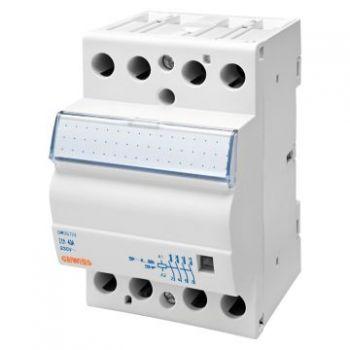 Contactor Contactor 40A 2No plus  2Nc 230V 3M Gewiss GWD6725