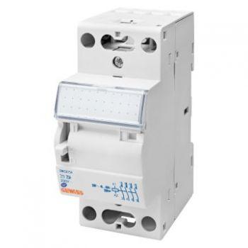 Contactor Contactor D-N 25A 3No 230V 2M Gewiss GWD6752