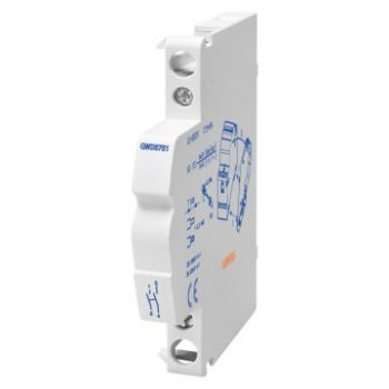 Contactor Contactor Auxil-Contact 1No plus 1Nc Gewiss GWD6762