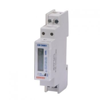 Contor Single Phase Energy Meter Direct 32A 1M Gewiss GWD6801