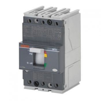 Intrerupator automat Mtx 160C B 16Ka 3P 125A Tm1 Gewiss GWD7010