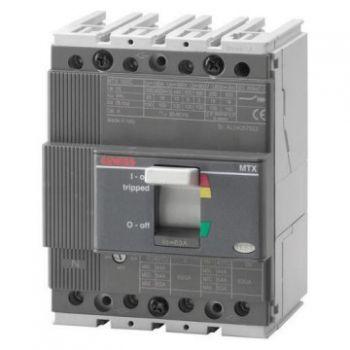 Intrerupator automat Mtx 160C B 16Ka 4P 125A Tm1 Gewiss GWD7030