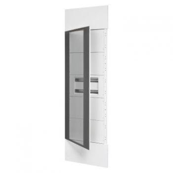 Coloana Domo Center Kit H-2400 Door Glass R-9003 Gewiss GWN1801XB