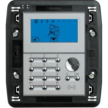 Bticino My Home Alarm System centrale 4 zone 506E chiaro HC4601