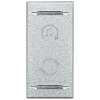 Bticino My Home Audio MhPlaca Xdifuzor Gri Desch HC4911BF