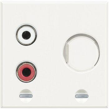 Bticino My Home Audio Axolute- Modul Rca Alb HD4560