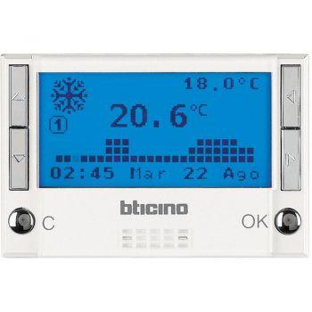 Bticino My Home Control Termperatura centrale termoregolazione alb HD4695