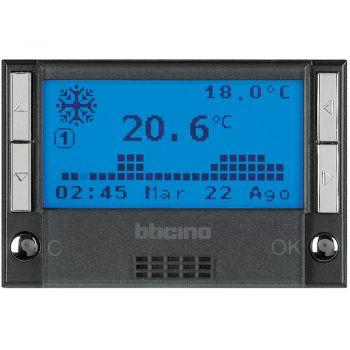 Bticino My Home Control Termperatura MH -centrale impianto termoregolazion axolute scuro HS4695