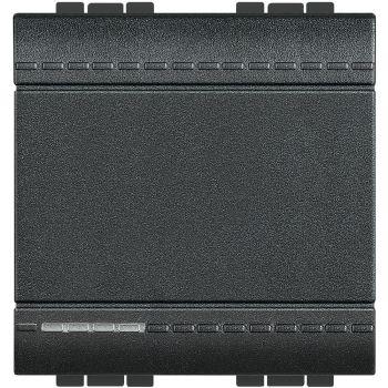 Bticino Living Light Intrerupator 1P 16A 2M Antracit L4001M2N