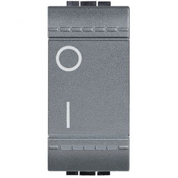 Bticino Living Light Comutator 2M 16A 1M Antracit L4002N