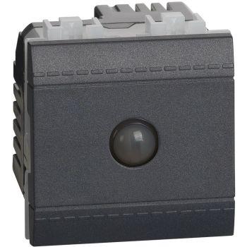 Bticino Living Light Intrerupator Cap scara Energy Saving Antracite L4003ES