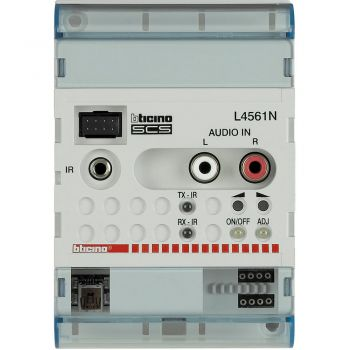 Bticino My Home Audio Control Stereo 4 Din L4561N