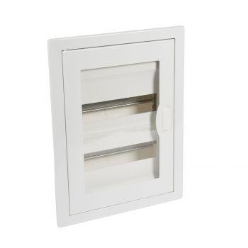 Tablou Electric Flush 2X12 Metal-Plus-Transp-Door Legrand 001452