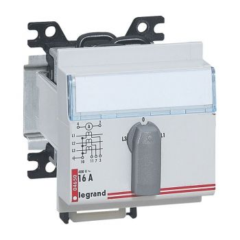 Contor Electric Ehipament Masurare Commutator Voltmetric 4Pos-Legrand 004653