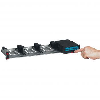 Cablare Structurata Hd Fiber Panel 1U For 4 Cassettes Empty Legrand 032140