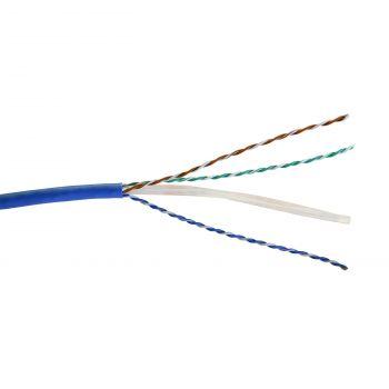 Cablu Audio Video Date Cablu U-Utp 6 Albastru Lszh Solid 4P Tambur 500M Legrand 032861