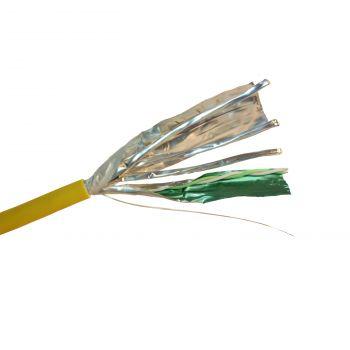 Cablu Audio Video Date Cablu F-Ftp 6A Galben Lszh Solid 4P Tambur 500M Legrand 032883