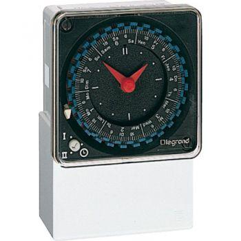 Ceas Programator Priza Timer I-Hor-Cadr-Jour-230V 50Hz Legrand 049750