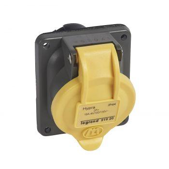 Prize Si Fise Industriale Hypra Socle Incl-2P-Plus-T 16A 110V Plast Legrand 051920