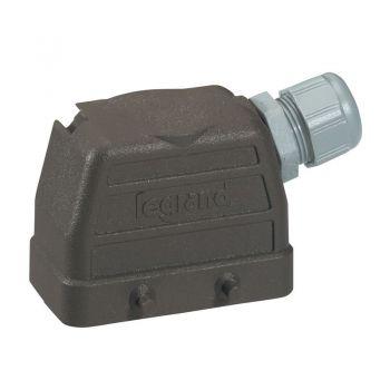 Conector Multipolar Industrial Capot Sortie Droite 35A 6P Legrand 052635