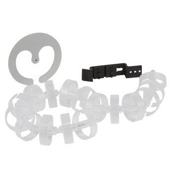 Prelungitor Birou Dispozitiv Ghidare Cabluri Sub Birou 0 77M Transparent Legrand 053597