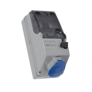 Tablouri Industriale Tempra P17 Priza Cu Intrerupator Ip44 32A Legrand 056649