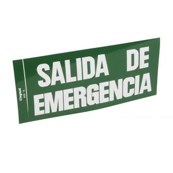 Iluminat Emergenta Etiq-Salida De Emergencia Legrand 060971