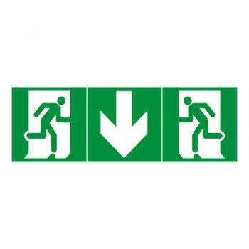 Iluminat Emergenta Etichete Evacuare Iesire Dreapta Legrand 061200