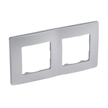 Legrand Niloe Rama 2 Posturi Aluminiu Legrand 397042