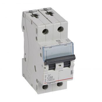 Siguranta Automata 6-10Ka Tx3 2P C50 6000A Legrand 403611