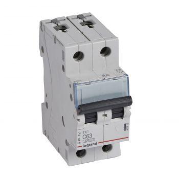 Siguranta Automata 6-10Ka Tx3 2P C63 6000A Legrand 403612