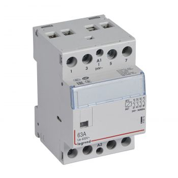 Contactor Cx3 Ct 24V 4F 63A Legrand 412512
