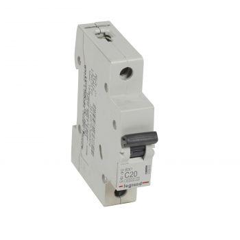 Siguranta Automata Rx3 Disjunctor 1P C20 4500A Monoconnect Legrand 419665