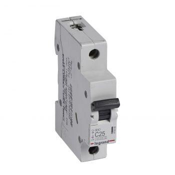 Siguranta Automata Rx3 Disjunctor 1P C25 4500A Monoconnect Legrand 419666