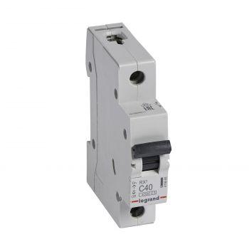 Siguranta Automata Rx3 Disjunctor 1P C40 4500A Monoconnect Legrand 419668