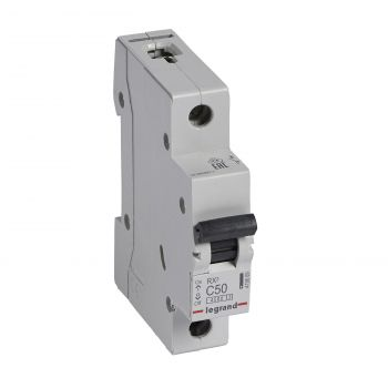 Siguranta Automata Rx3 Disjunctor 1P C50 4500A Monoconnect Legrand 419669