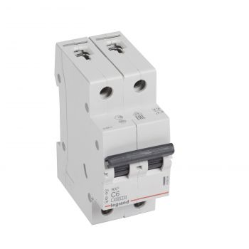 Siguranta Automata Rx3 Disjunctor 2P C6 4500A Monoconnect Legrand 419694
