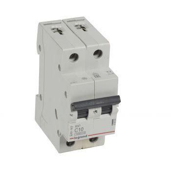 Siguranta Automata Rx3 Disjunctor 2P C10 4500A Monoconnect Legrand 419695