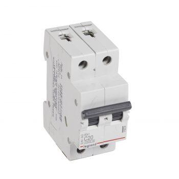 Siguranta Automata Rx3 Disjunctor 2P C20 4500A Monoconnect Legrand 419698