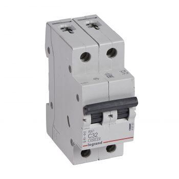 Siguranta Automata Rx3 Disjunctor 2P C32 4500A Monoconnect Legrand 419700