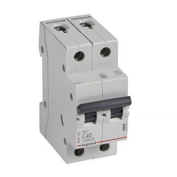 Siguranta Automata Rx3 Disjunctor 2P C40 4500A Monoconnect Legrand 419701